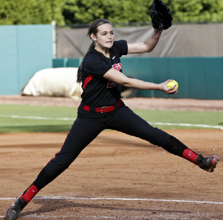 Chelsea Wilkinson made her Georgia debut against Elon on 2/8/13.