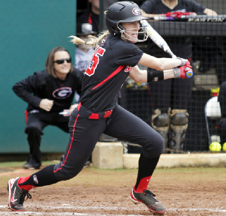 Cricket Blanco posted a .400 batting average in her first two collegiate games.