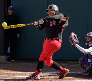 Tina Iosefa leads Georgia in home runs with nine on the season.