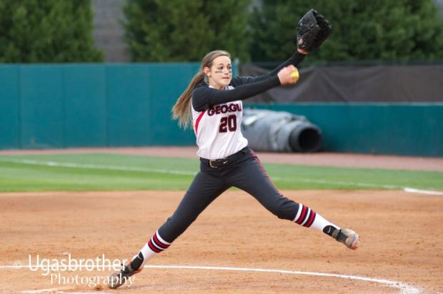 Chelsea Wilkinson in action against Ole Miss.