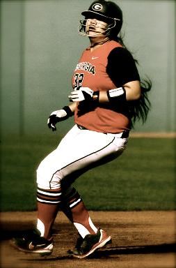 Tina Iosefa hit 5 home runs on the weekend and tallied 16RBI. (Original Photo Courtesy GeorgiaDogs.com)