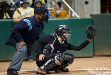 Katie Browne allowed no stolen bases and gunned down one runner against Georgia Tech on Wednesday.