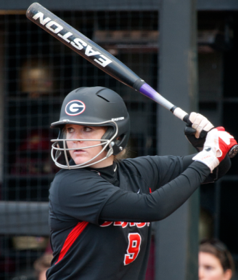 Paige Wilson (.435, 6HR, 35RBI) is currently swinging a blazing hot bat!