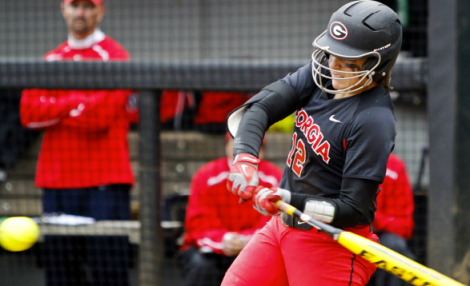 Geri Ann Glasco hit three home runs on Saturday against Ole Miss.