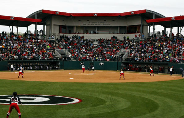 Georgia played in front of a capacity crowd on Wednesday night in Athens against Georgia Tech.