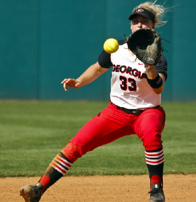 Tess Sito played a brilliant stint at SS against South Carolina on Saturday.