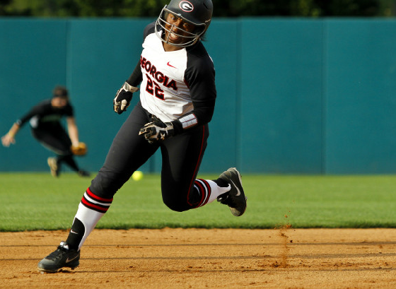 Sophomore slap-hitter Niaja Griffin went 3-4 on Wednesday against USC Upstate.