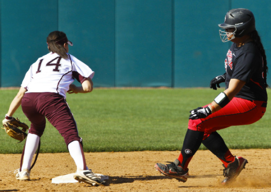 Tina Iosefa hit a 2-run home run and was 3-4 at the plate on Sunday against Texas A&M